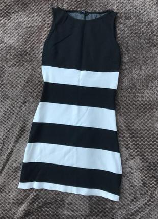 Трикотажное платье f&f