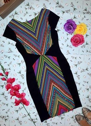 Крутое яркое платье boohoo, длина миди, размер 44-46, новое