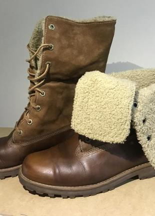 Ботинки сапоги timberland оригинал женские зимние непромокаемые тимбы