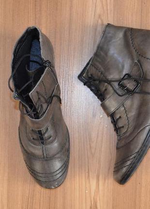 Ботинки, черевички rieker