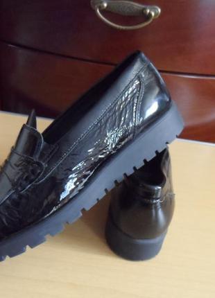 Кожаные туфли мокасины medicus