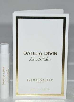 Givenchy dahlia divin eau initiale (пробник)