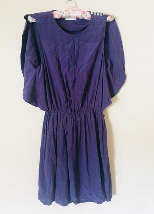 Платье 100% шёлк цаета фуксия