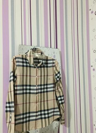 Рубашка от burberry