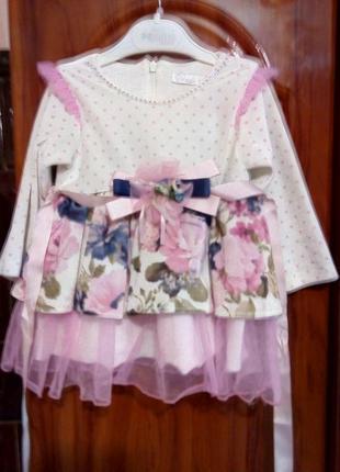 Нарядное платье для крошки!