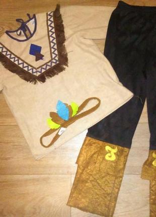 Карнавальный костюм индейца 4-6 лет