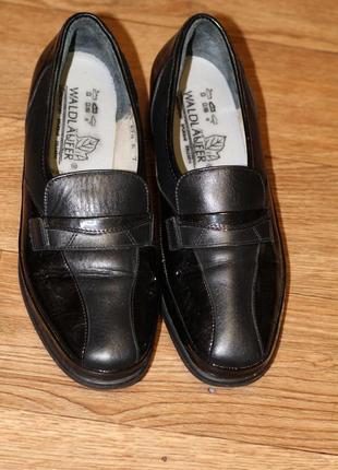 Высококачественные кожаные туфли waldläufer 39-40 р-р германии