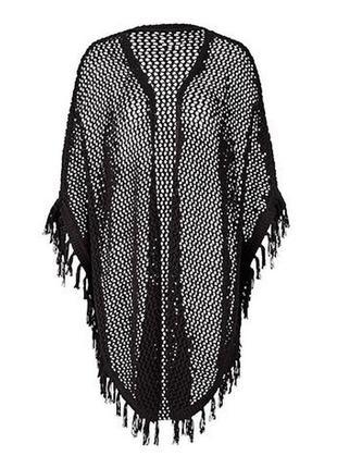 Вязаное пончо от tchibo! размер s/m3