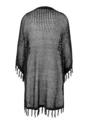 Вязаное пончо от tchibo! размер s/m4