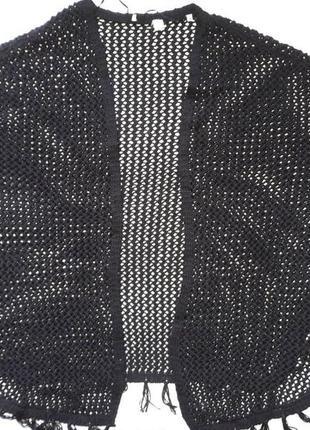 Вязаное пончо от tchibo! размер s/m5