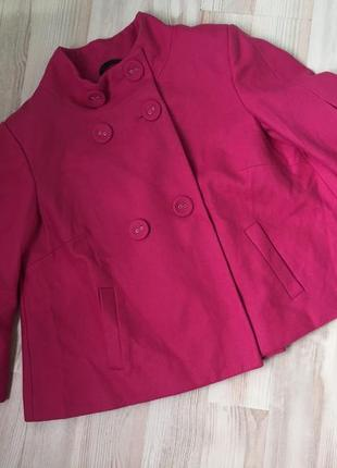Пальто , пончо, накидка яркая new look