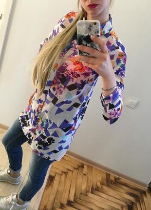Рубашка блуза топ туника