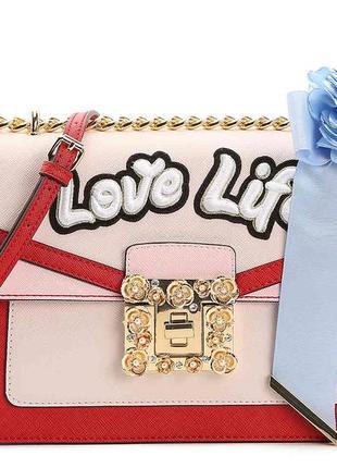 Новорічний розпродаж сумка через плечо с вышивкой aldo