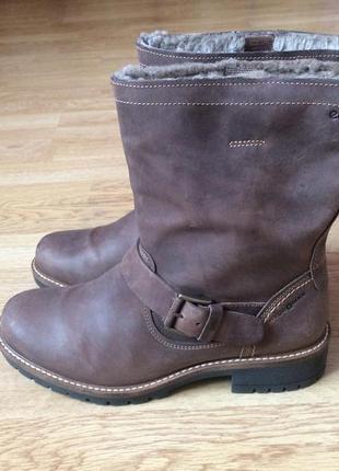 Зимние ботинки сапожки ecco 39 размера в идеальном состоянии