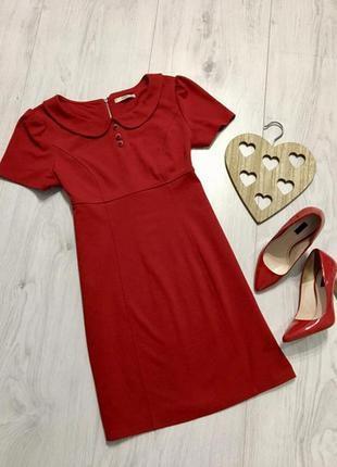 Яркое и элегантное красное платье, l-xxl