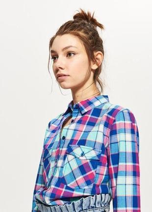 Рубашка в клетку сорочка pimkie