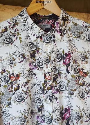 Эксклюзивная акварельная рубашка ted baker original