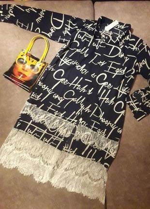 Супер стильное платье - рубашка!