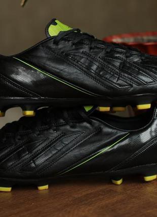 Мужские кожаные бутсы adidas f30 trx fg leather