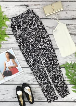 Классические брюки с принтом сафари   pn1838081