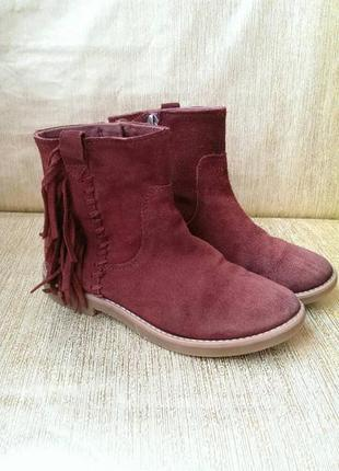 Ботинки сапоги zara 32p