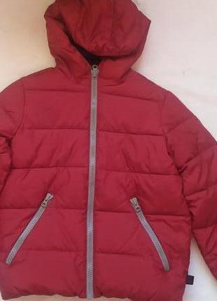 Куртка теплая benetton р.130см 7-8лет