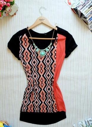 Колоритная блуза f/f
