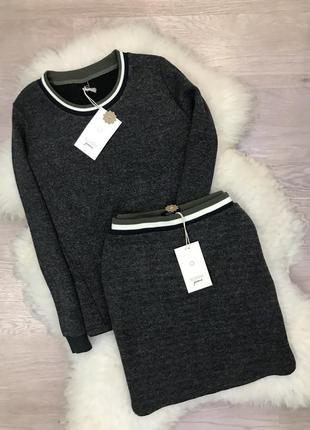 Шикарный тёплый костюм датского бренда numph