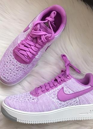 """Кроссовки nike air force 1 ultra flyknit low """"royal orchid"""""""