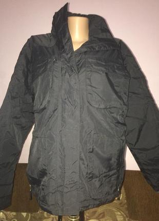 Термо куртка водонепроницаемая jack morgan большого размера