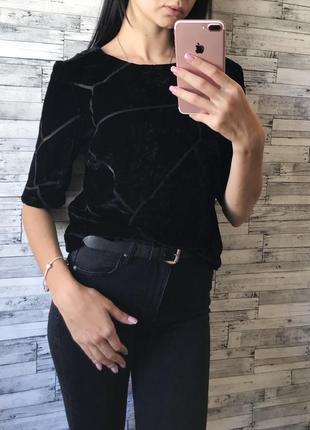Велюровая блуза от vero moda