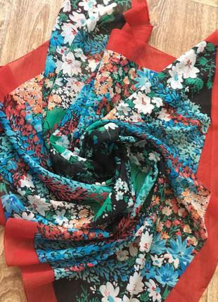 Платок/шарфик/косынка на шею/на сумку