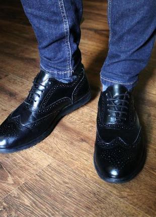 Идеальные туфли броги am shoe company brogues размер 42