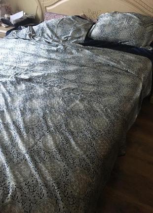 Роскошное шелковое постельное белье, 100% натуральный шелк,