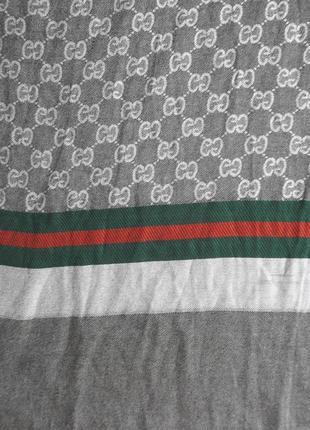 Gucci  кашемировый большой шарф