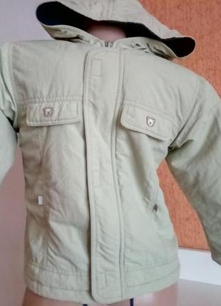 Демисезонная куртка ветровка с капюшоном на молнии без карманов travalle финляндия