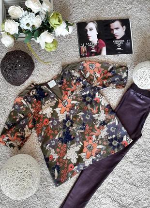 Шикарная блуза в цветочный принт vero moda.