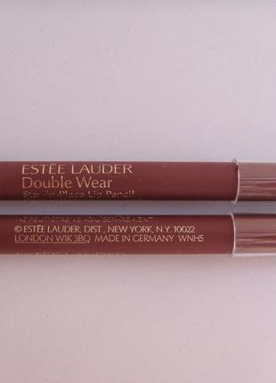 Карандаш estee lauder  double wear stay-in-place lip pencil мини версия