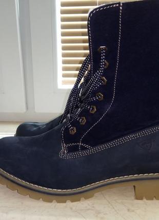 Зимние ботинки tamaris.