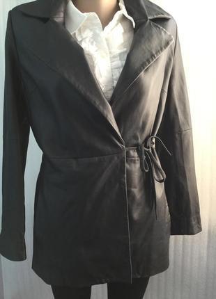Куртка кожа утепленная  s, xs