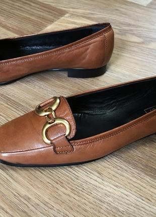 Туфли лоферы женские navyboot 27см натуральная кожа