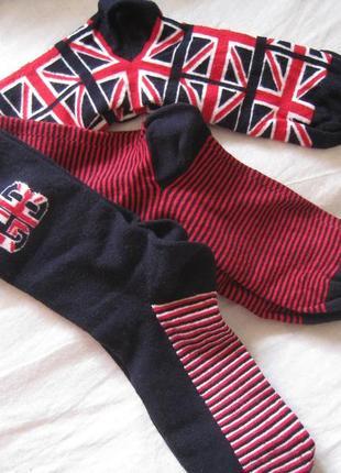 Набор носков jack & jones, 3 пары, англия, оригинал!