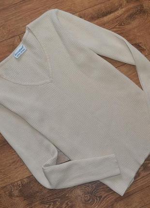 Гольфик гольф свитер в рубчик /s-m