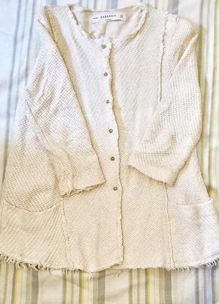 Пиджак кофта жакет zara
