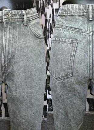 Мом джинс варенки высокой посадки zara размер eur 34