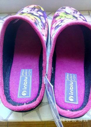 Тапки детские, тапочки, домашняя обувь. inblu.4