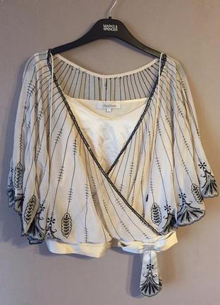 Шелковая блуза max mara