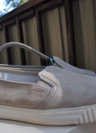 Туфли мокасины слипоны геокс geox р.40 us-10 uk-7 26.5 лоферы