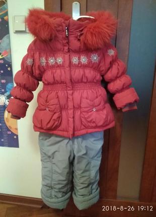 Зимний комбинезон kiko