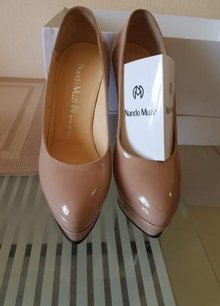 Роскошные туфли италия оригинал nando muzi!